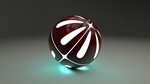Glowing Ball by Acertas