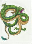 Shenron by Kittentastic