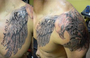 Chest Eagle by DREIII
