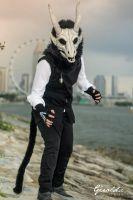 Cosplay event at Marina Barrage by geraldchew