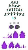 iX normal form sprite sheet by DanmanX5792