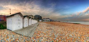 Row, Row, Row of Huts by wreck-photography