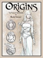 Origins Book Cover by staino