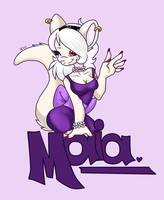 [BADGE] Maia Woozle by DraconemIgnis