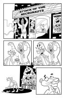 Pink Panther Inked Comic Page by toonbaboon