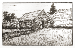 Old house - Sketch by mirceabotez