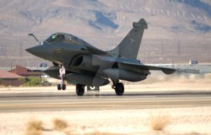 Rafale Landing Roll by jdmimages