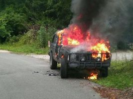 SUV Ablaze by KMITCH210