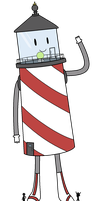 Prince Lighthouse by Mini-Bacon-Lace
