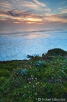 San Simeon Sunset by narmansk8