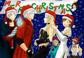 DMC Christmas by ravenator94