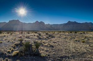 Sun Over Red Rock Canyon by aloehnert