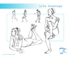 Life drawings 3 by JimmyChang83