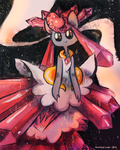 Mega Diancie by blubified