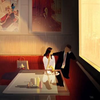 Quick stop by PascalCampion