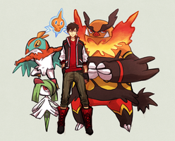 GT: Pokemon AU by yilern