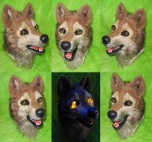 Wolfs Rain - Hige Head by DrakonicKnight