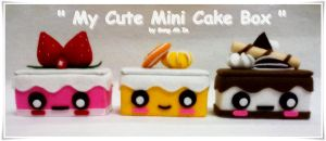 My Cute Cake Box Collection by SongAhIn