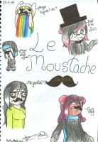 Le Moustache by Nite3007