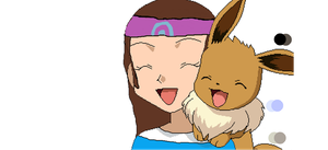 Me as a Trainer by ChocoEevee