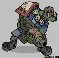 Shoota ork by Lugubre