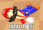 FATALITY (?) [Super Mario 64 Bloopers: Tubbie TV] by MarioBros654