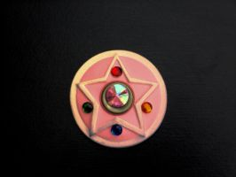 Sailor Moon Transformation Brooch by Pure-Oxido