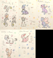 PKMNation: Ghosts, Fairies, Tyrants (Closed!) by Dianamond