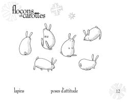 Rabbits - Attitude Poses by boum