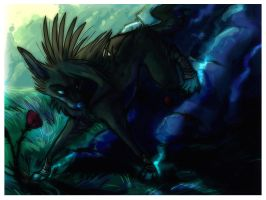 Down the Slopes of Hell by ZenirixWolf