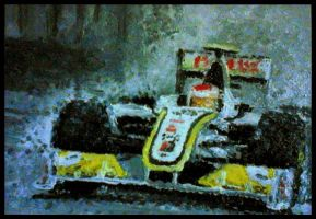 Rubens Barrichello Brawn GP by Galbatore