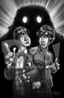 Doctor Who and Jamie by jonpinto