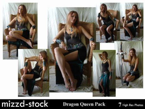 Dragon Queen Pack by mizzd-stock