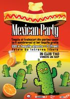 flyer ClubTAO - Mexicans by semaca2005