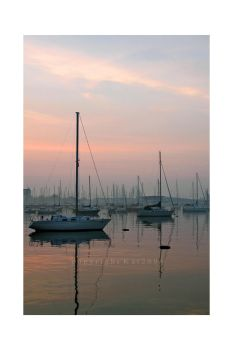 The Morning Harbour by Kat2006