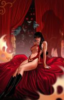 Vampirella 7 cover by PaulRenaud