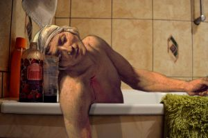 Bath of Marat by PencilLover