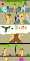 Under the Holly? by DespisedAndBeloved