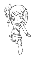 Fairy Tail Chibi - Lucy by RebeccaProductions