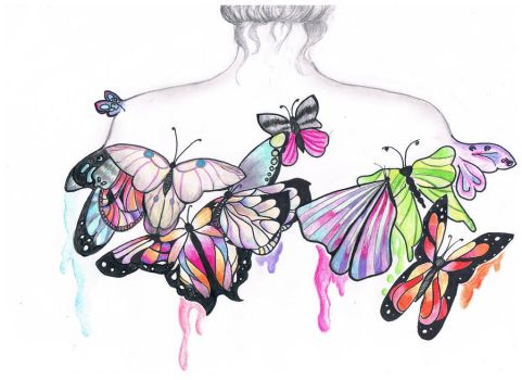 butterfly by veronicaVep