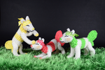 Sushi Dogs: Ahanu, Ihaka, Amoshe by Pickleweasel360