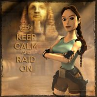 Tomb Raider Classic: Keep Calm by Irishhips