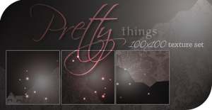 Pretty things: texture set by RoxySpaulding