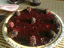 Foxdale's Famous Blackberry Cheesecake by Foxdale