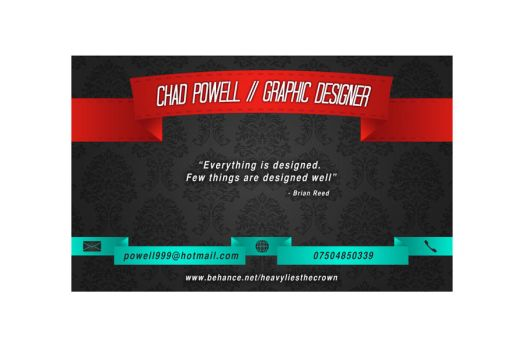 Business Card by chadpowell