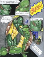 Donatello the Traitor? Comic by alaer