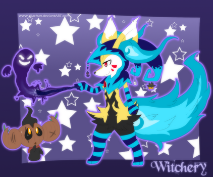 .:The Witch:. by gretellu