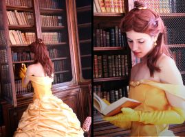 Bell- In the Library by Para0Doll