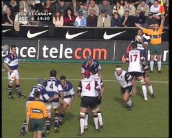 Rugby on CANAL+ FRANCE by orangebox