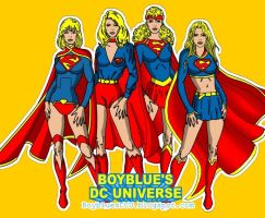 Supergirls by BoybluesDCU